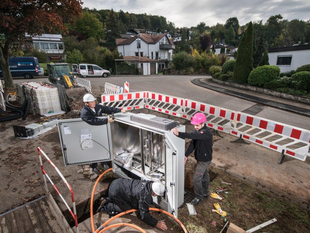 Breitband Ausbau