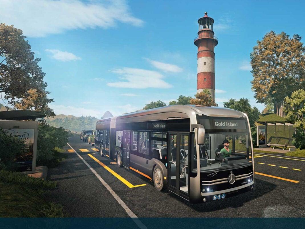Bus Simulator 21 Screenshot.