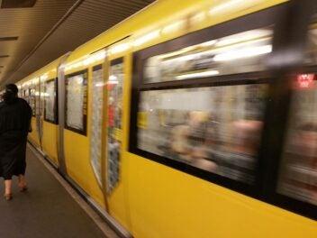 U-Bahn der BVG in Berlin