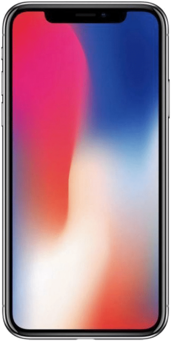 Apple iPhone X Vorderseite