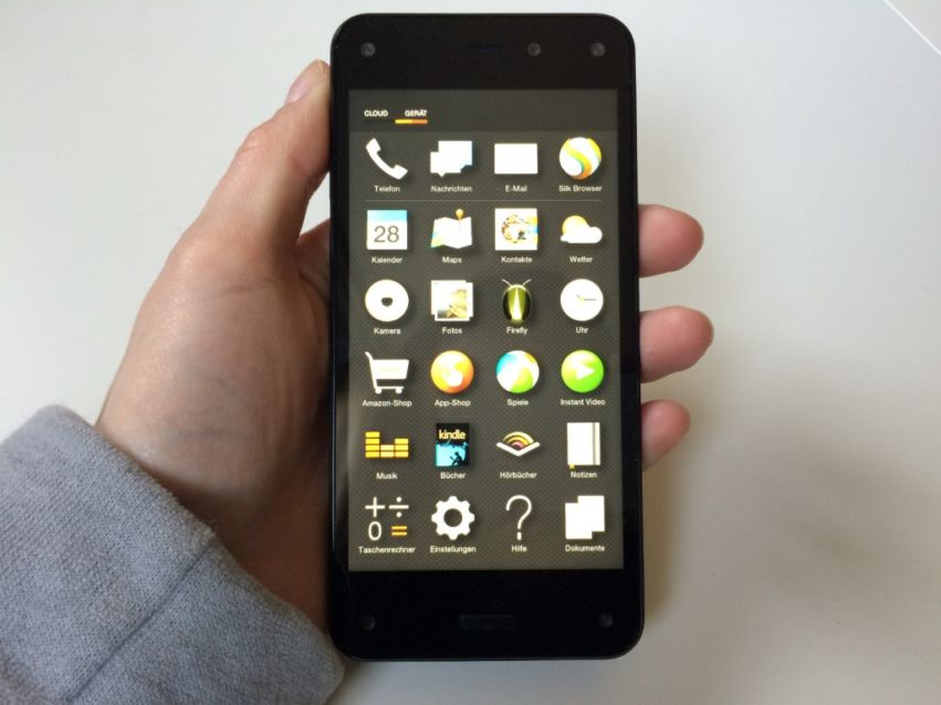 Amazon Fire Phone: Hands-On