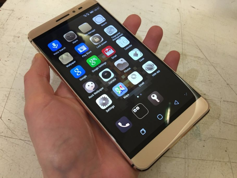 Coolpad Max: Hands-On