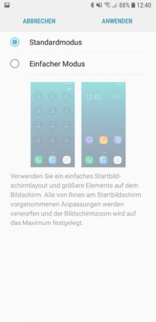 Die Software hinter dem Display des Galaxy A6