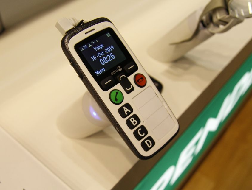 Doro Secure 580IP: Hands-On