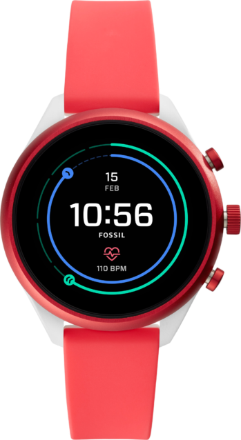 Fossil Sport Smartwatch Rot
