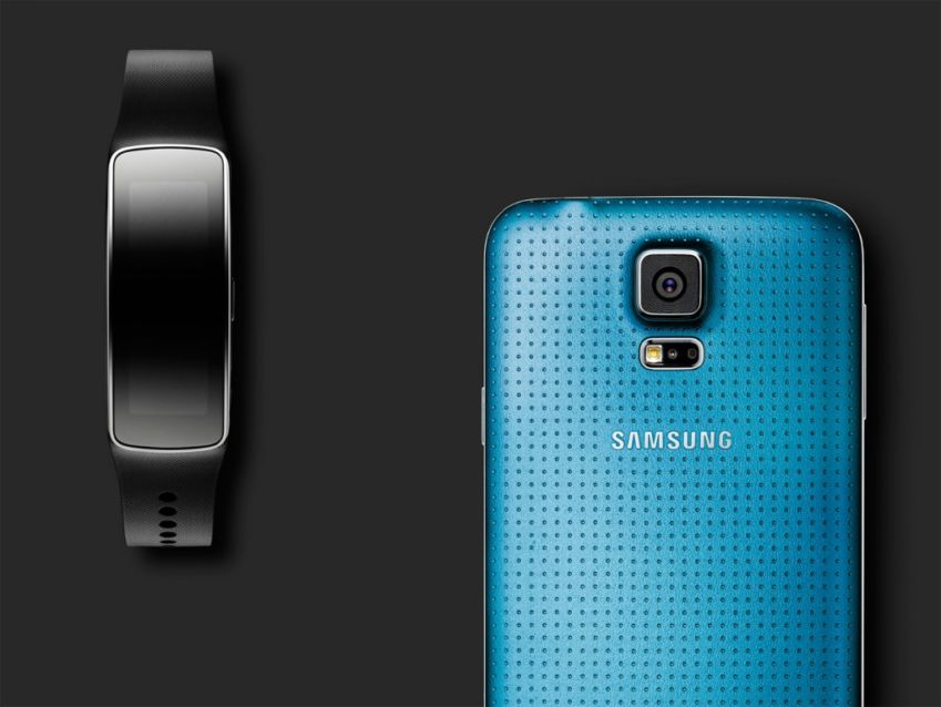 Gear Fit + Galaxy S5