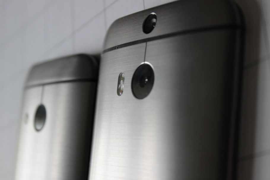 HTC One mini 2 vs. HTC One (M8): Hands-On-Fotos