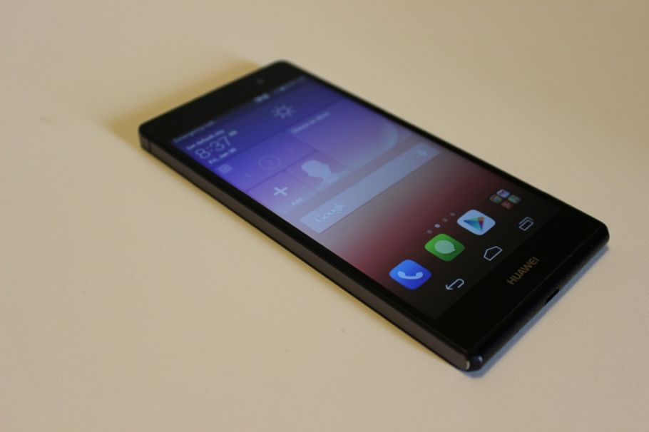 Huawei Ascend P7: Hands-On-Fotos