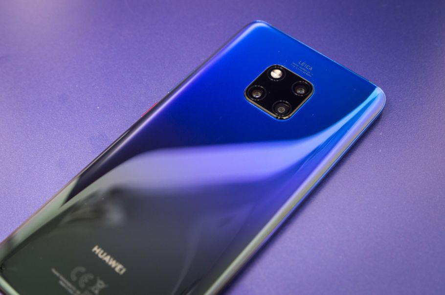 Huawei Mate 20 Pro in der Farbe Twilight