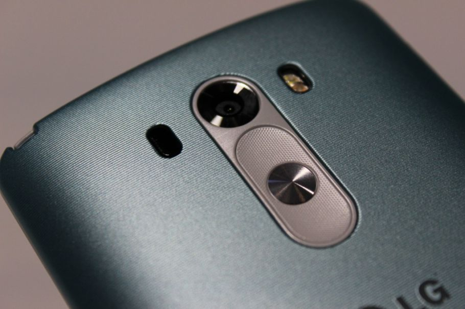 LG G3 mit QuickCircle Cover: Hands-On-Fotos