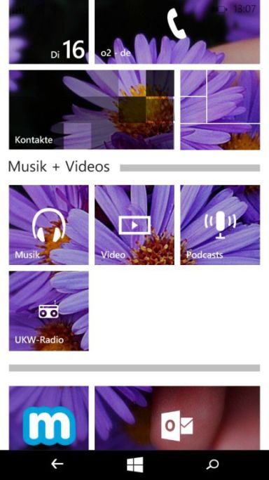 Microsoft Lumia 535 Screenshots