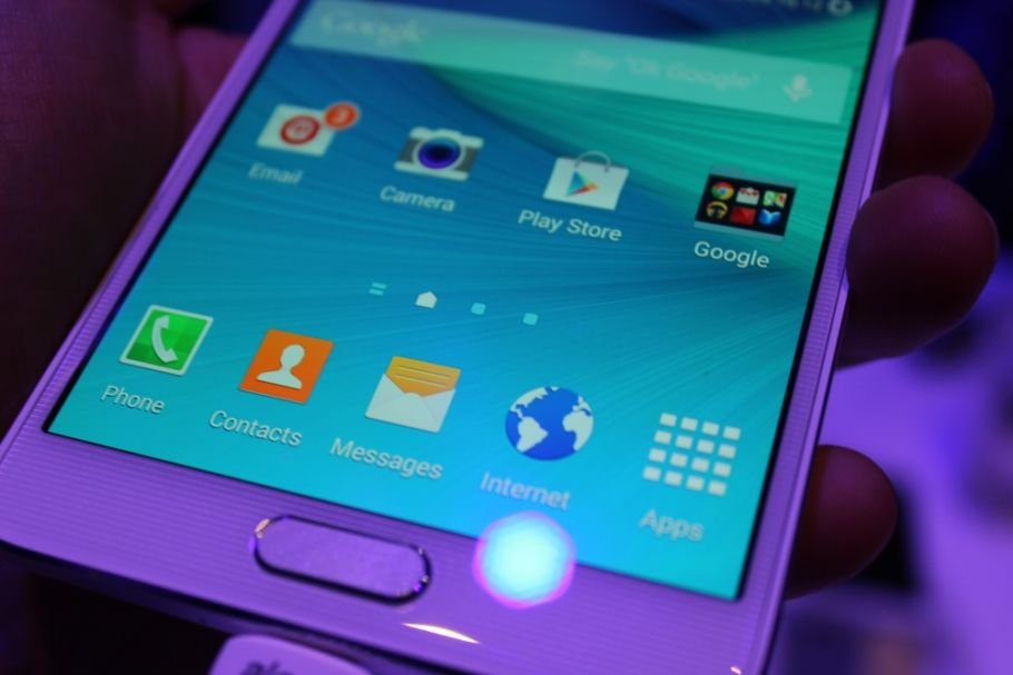 Samsung Galaxy Note 4: Hands-On-Fotos