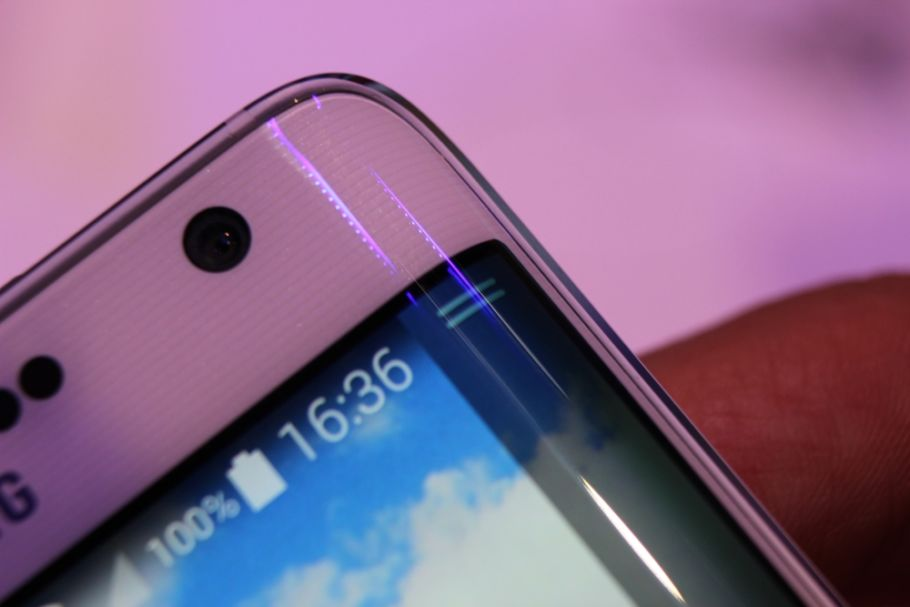 Samsung Galaxy Note Edge: Hands-On-Fotos