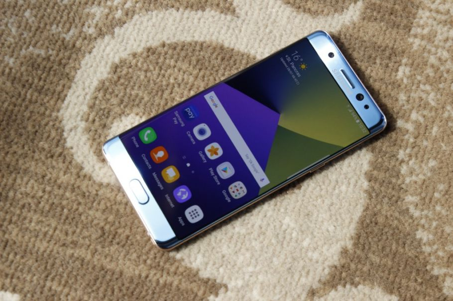 Samsung Galaxy Note7 im Hands-On
