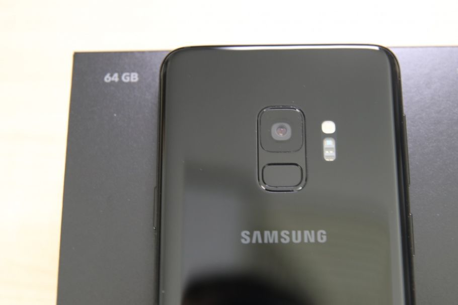 Samsung Galaxy S9 im Test: Unboxing