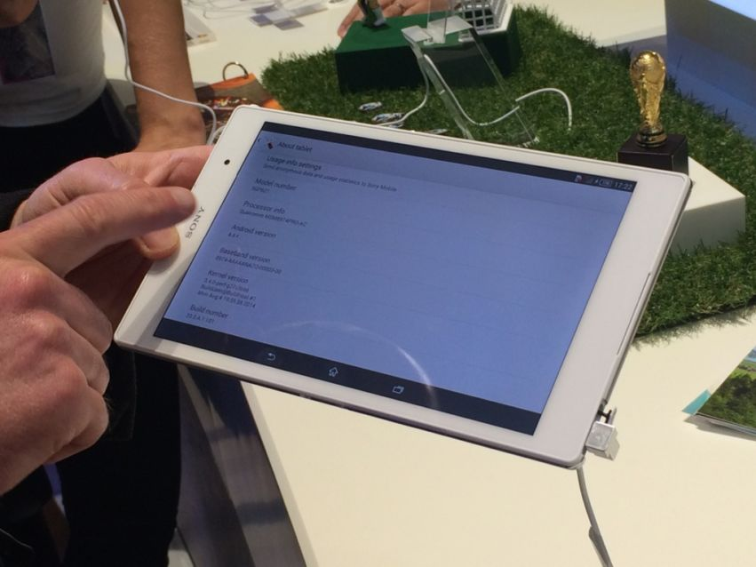 Sony Xperia Z3 Compact Tablet: Hands-On