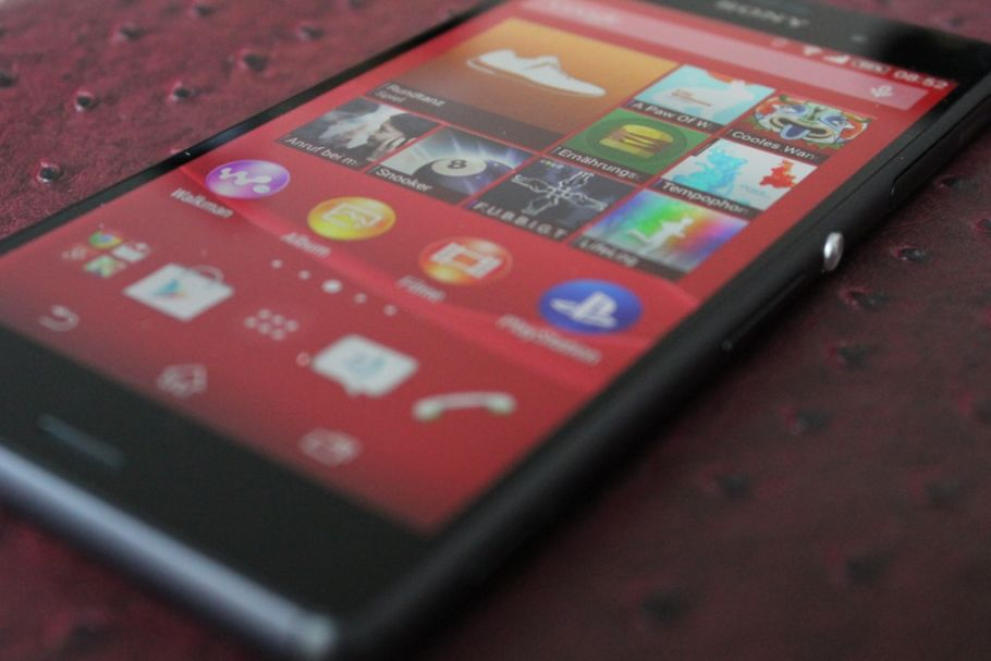 Sony Xperia Z3: Hands-On-Fotos