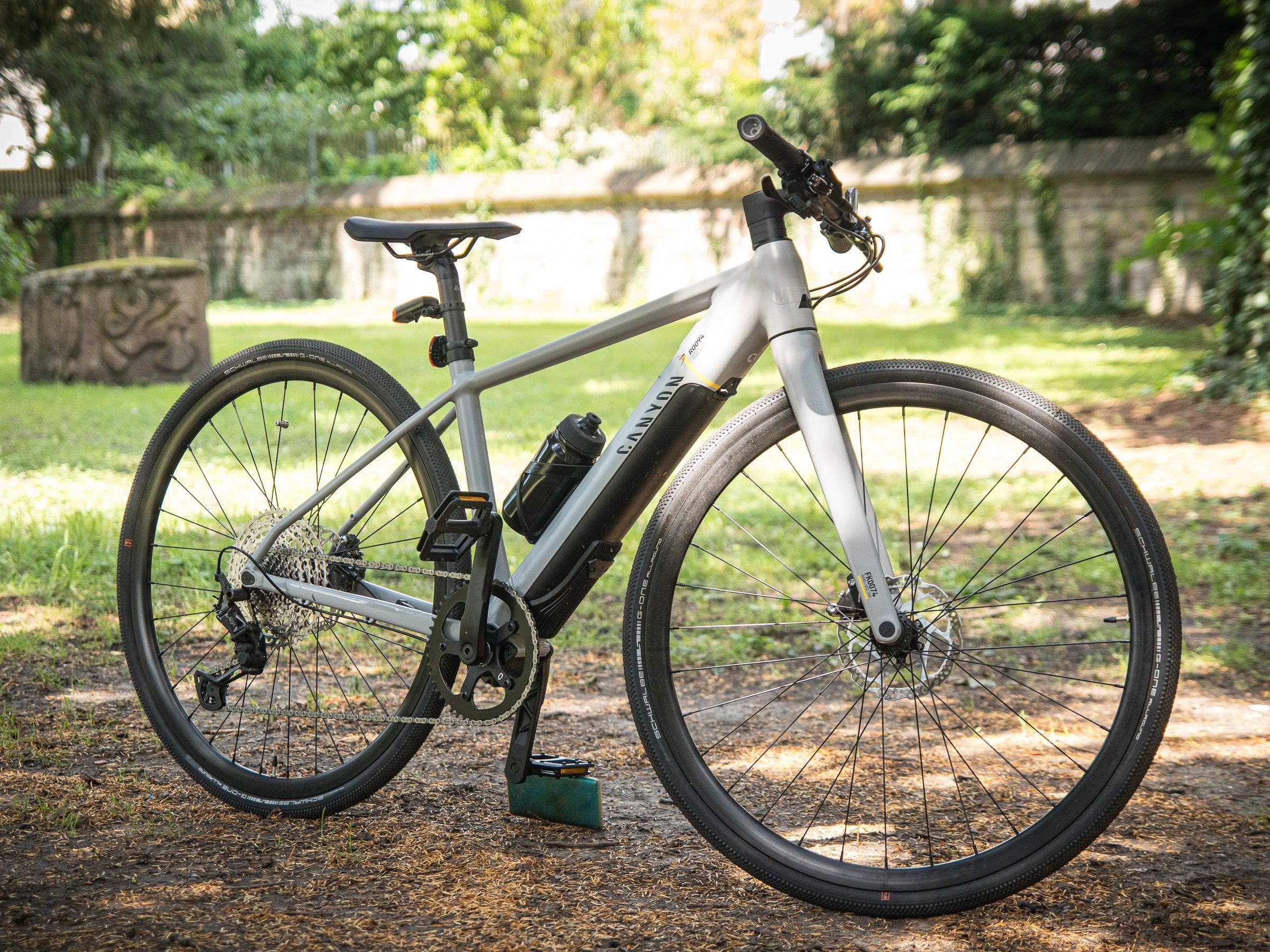 Training oder Pendeln? E-Bike Canyon Roadlite:ON 7 zeigt im Test, dass beides geht