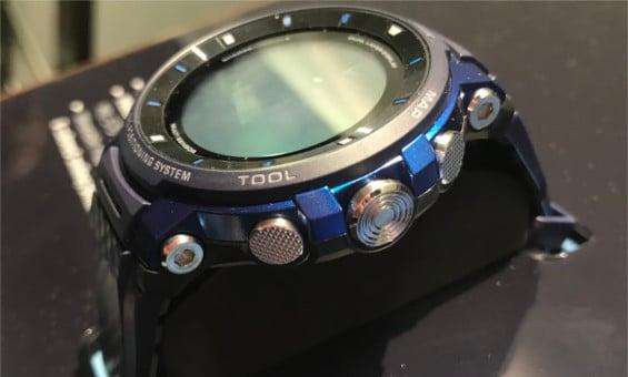 Casio Pro Trek WSD-F30 im Hands-On