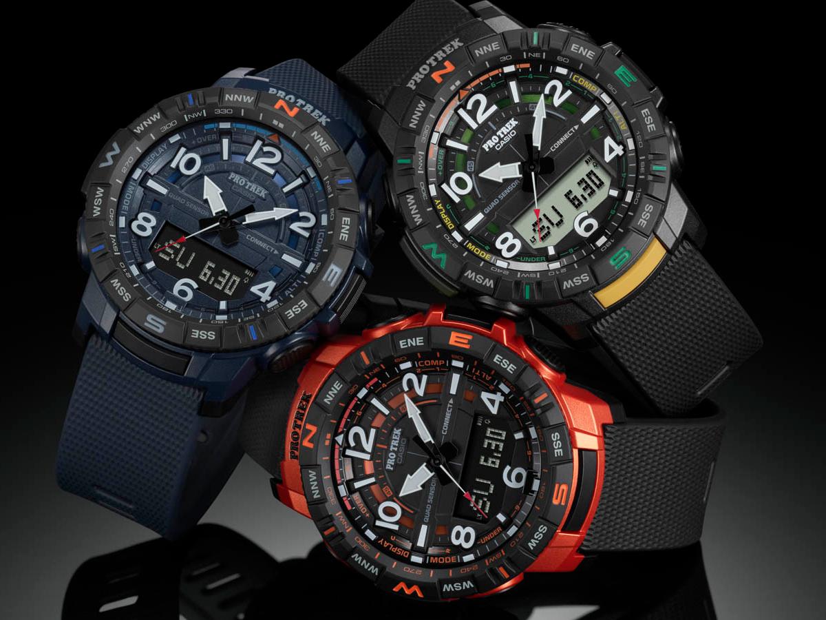 Casio PRT-B50 Pro Trec Connected Smartwatch