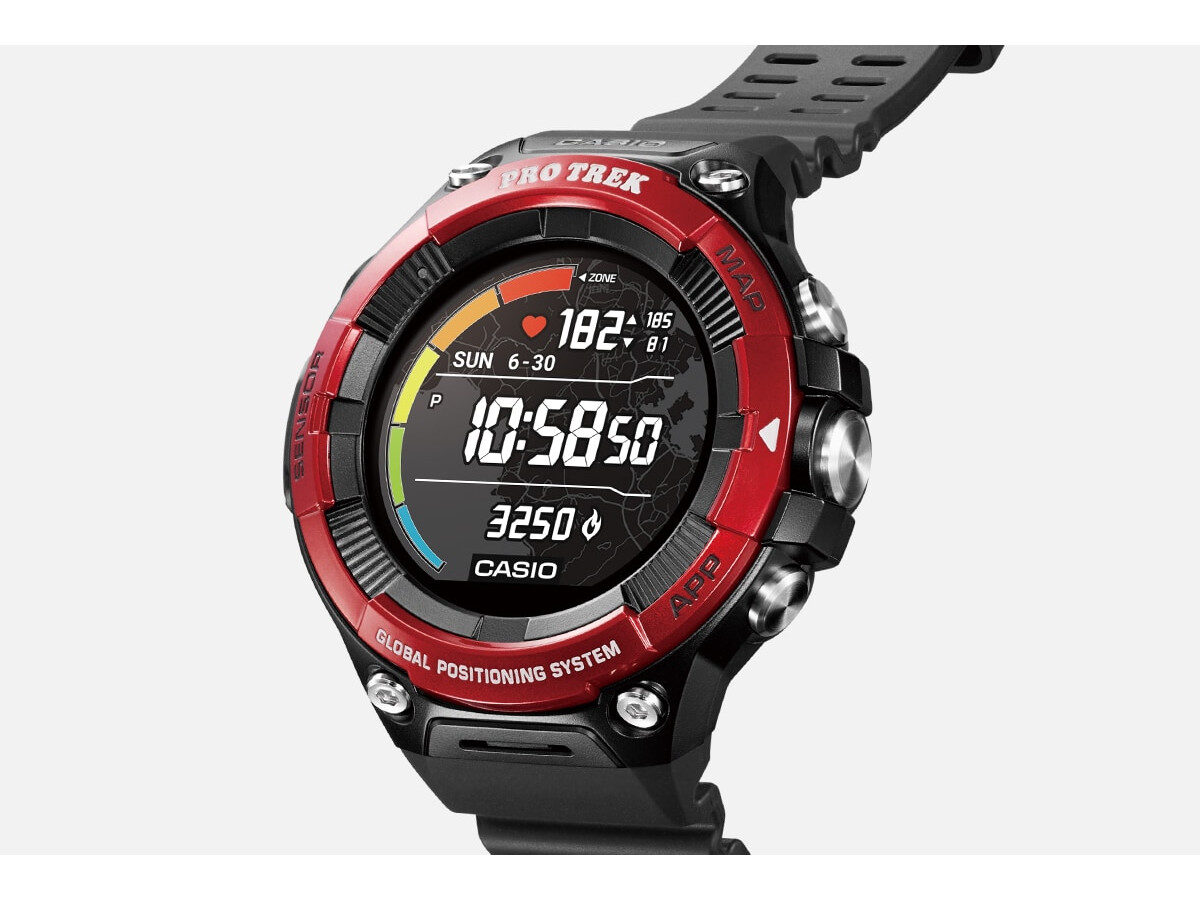 Casio Pro Trek WSD-F21HR Smartwatch