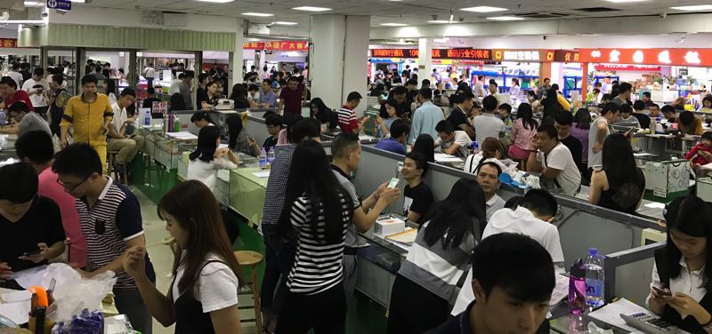 China: Huawei in Shanghai