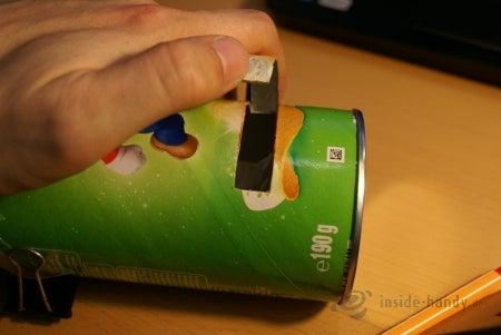 Chips-Dose als Lautsprecherverstärker