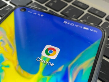Chrome App auf Smartphone