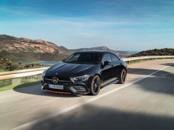 Der Mercedes-Benz CLA Coupe
