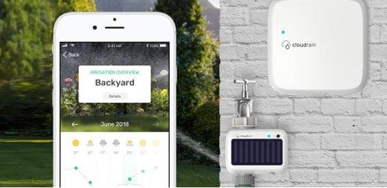 CloudRain Smartes Bewässerungssystem Garten