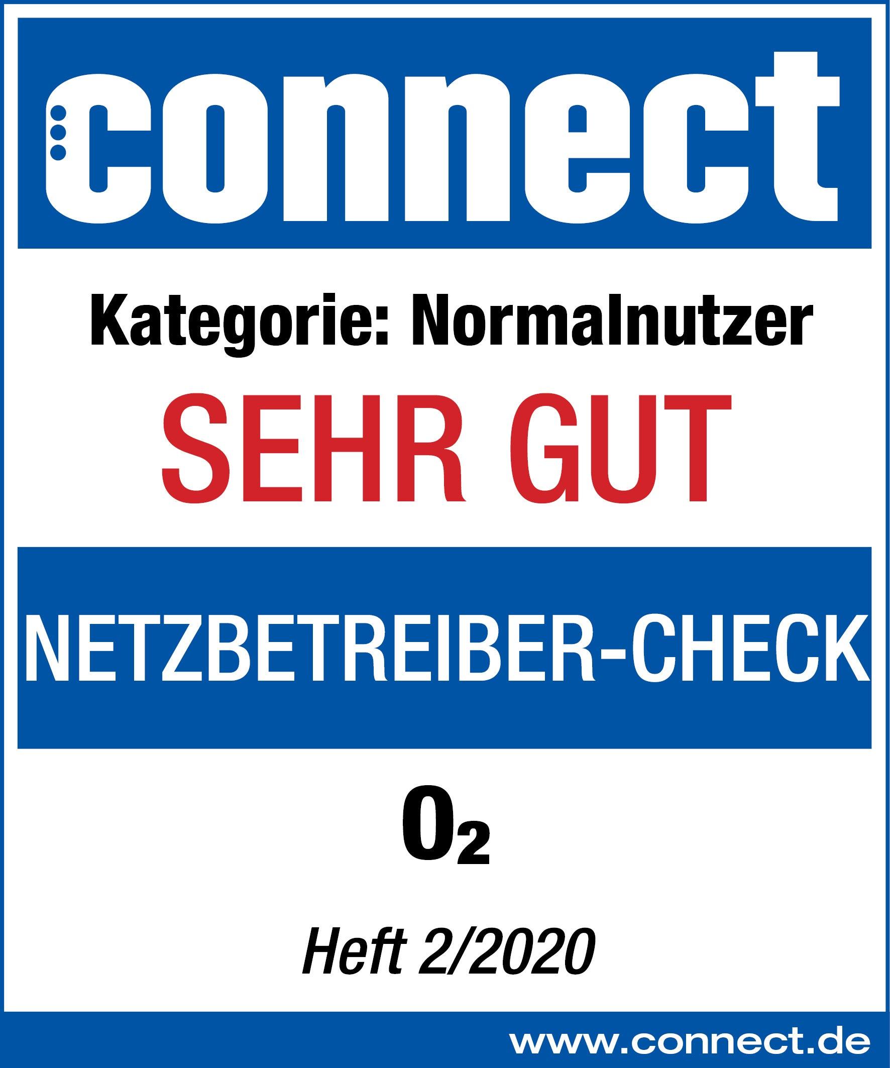 Connect Netzbetreiber-Check Siegel o2