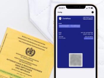 Corona Impfnachweis im Apple Wallet speichern: So geht's