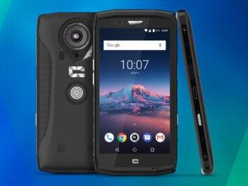 Das Outdoor-Smartphone Crosscall Trekker X4