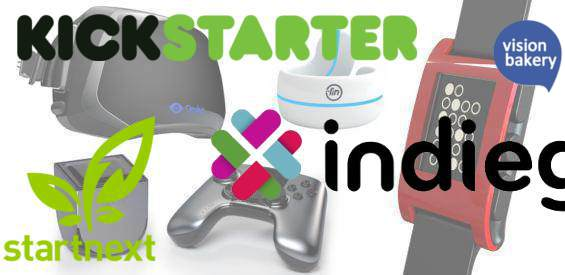 Crowdfunding-Plattformen: Indiegogo, Kickstarter, Startnext, VisionBakery
