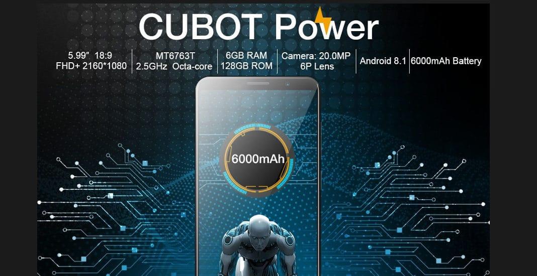 Cubot, Power, Pressefoto, Smartphone, China-Handy