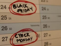 Cyber Monday, Black Friday Symbolbild 2017