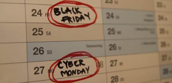 Cyber Monday, Black Friday Symbolbild 2017