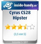 Cyrus CS28 Hipster im Test
