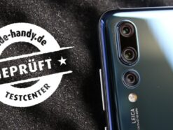 The Huawei P20 Pro in the exam