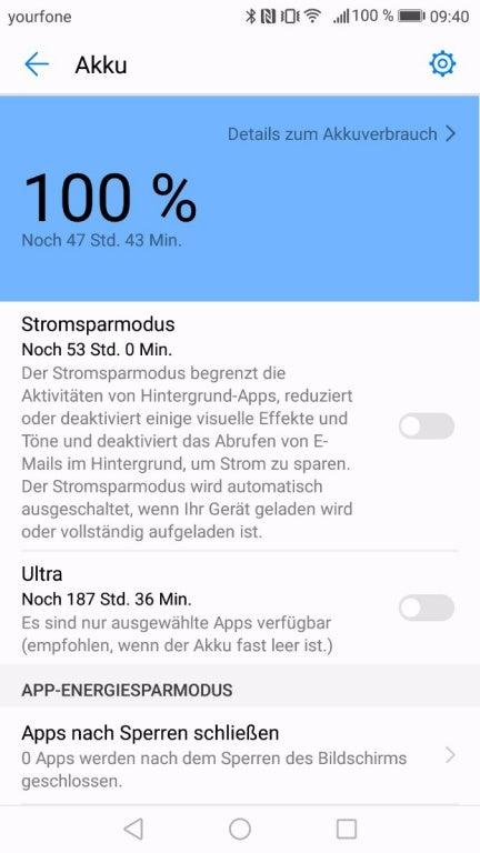 Huawei p8 lite apps im hintergrund