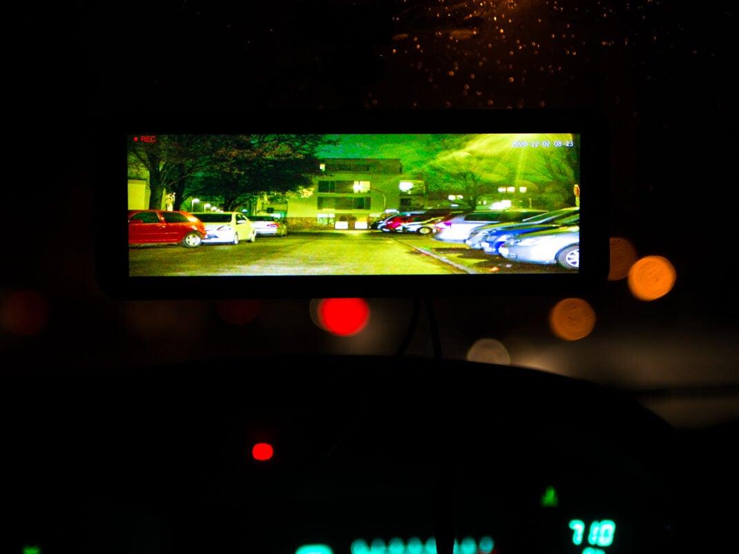 Dashcam von Lanmodo mit Nachtsichtkamera im Test
