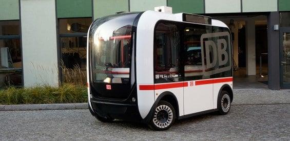 DB autonom fahrender Bus