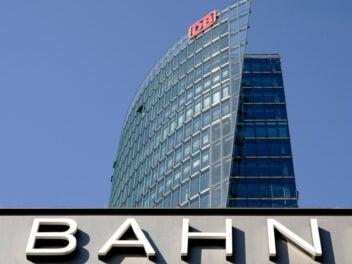 Zentrale der Deutschen Bahn in Berlin