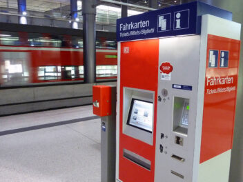 DB Fahrkartenautomat