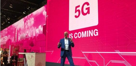 Telekom-Chef Tim Höttges auf dem MWC 2017 in Barcelona.