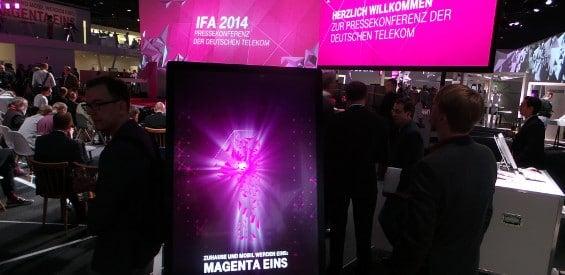 Die Deutsche Telekom auf der IFA 2014
