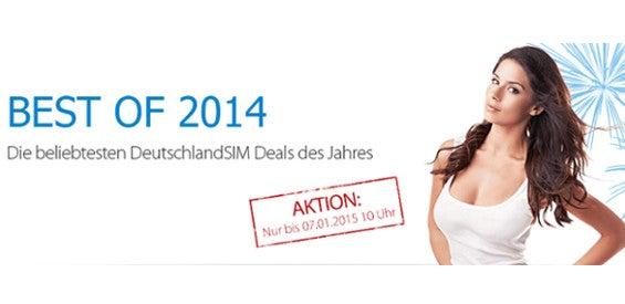 DeutschlandSIM Best of 2014 Aktion