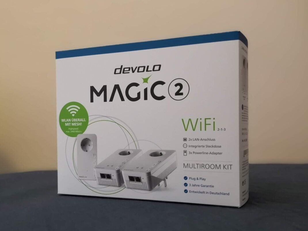 Packung des devolo Magic 2 Multiroom Start-Kit