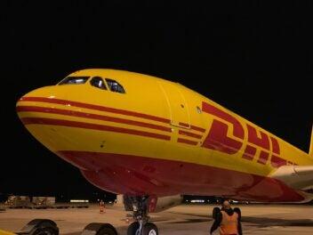 DHL Express Flugzeug