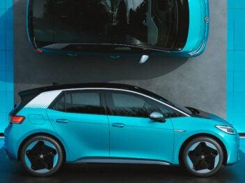 Der VW ID.3 gehört zu den 10 günstigsten Elektroauto-Modellen 2021